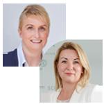 Heike Lindörfer und Christin Welk