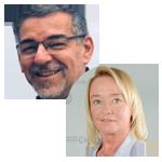 Walter J. Wittl und Tanja Heilmann