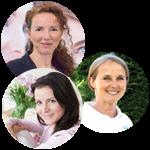 Anna Caria, Astrid Eckerl und Jeannette Steinhofer